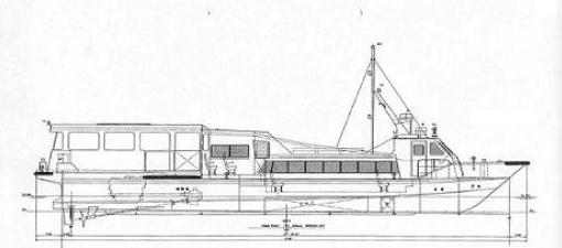 19トン型 旅客船 ワンオフ艇